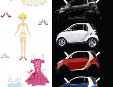 Smart Car Print Advertisement