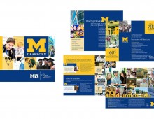 University of Michigan's Viewbook